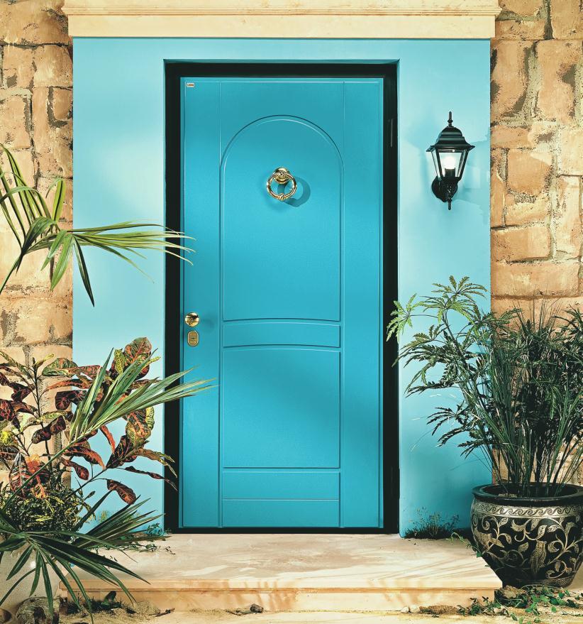 входные двери со стучалкой
