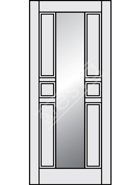 декоративная панель талия со стеклом